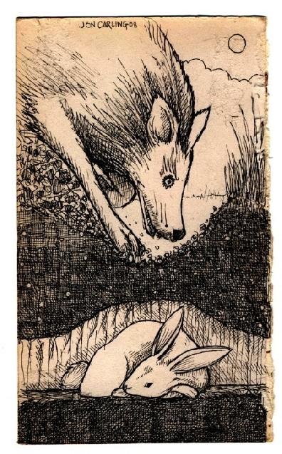 Jon Carling – мистерии в гелевой ручке. Изображение № 16.