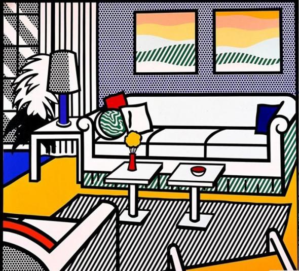 Найдено за неделю: Интерьеры Роя Лихтенштейна, неон-арт и граффити с гейшами. Изображение № 22.