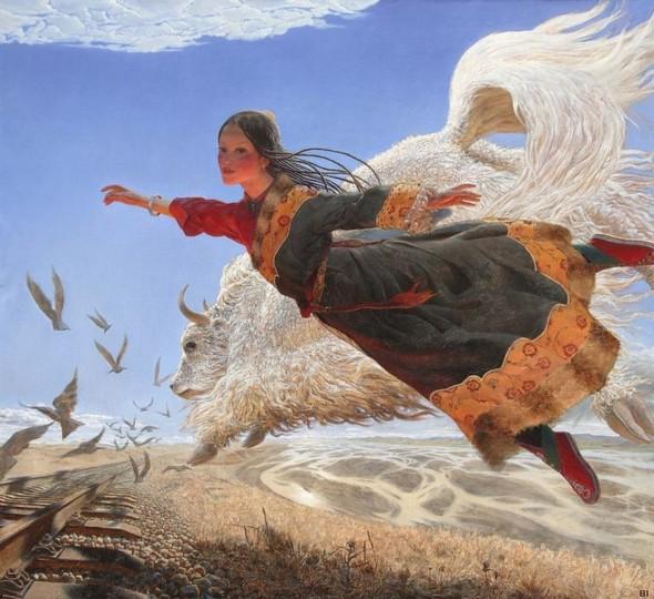 Wang Yi Guang. Feitain, или летающий пух. Изображение № 20.