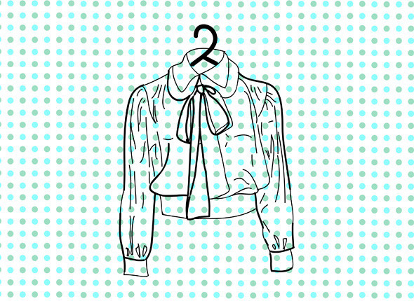 Блузка Yves Saint Laurent 1970-х годов. Изображение № 6.