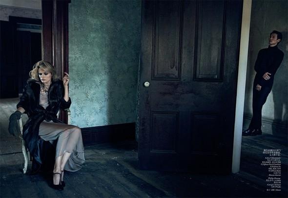 Съёмка: Эдита Вилкевичюте в объективе Питера Линдберга. Изображение № 8.
