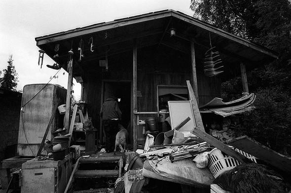 Дом Джули находился в 32 км от ближайшего населенного пункта. Снимок сделан в 2009 году.. Изображение № 13.