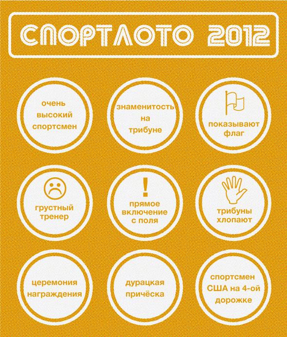 Спортлото-2012: Настольная игра по мотивам олимпийских трансляций . Изображение № 12.