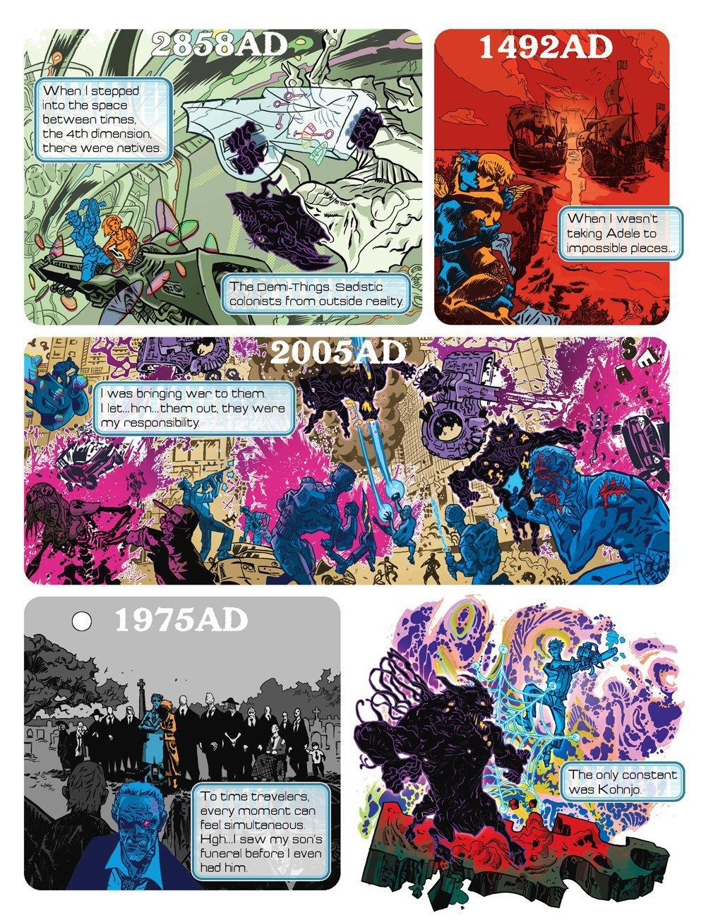 Как стать художником мирового издательства комиксов. Изображение № 4.