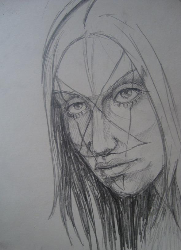 импровизация рисунка (3). Изображение № 1.