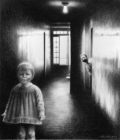 Laurie Lipton «Сюрреализм внутри нас». Изображение № 8.