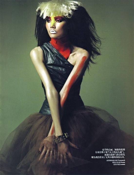 Magical illusion (China Harper's Bazaar, November 2008). Изображение № 10.