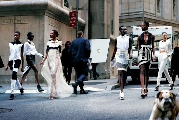 Изображение 27. Съемки: Harper's Bazaar, Metal, V и Vogue.. Изображение № 27.