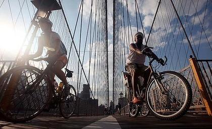 На велосипедах по Манхеттену. Изображение № 1.