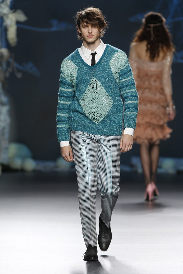 Madrid Fashion Week A/W 2012: Francis Montesinos. Изображение № 25.