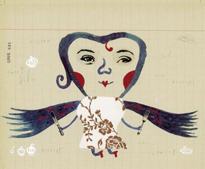 Лунная девушка Сара. Изображение № 5.
