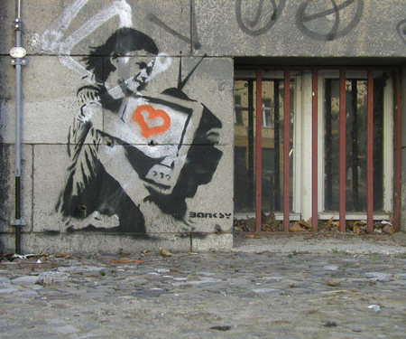Изображение 14. Арт-терроризм Banksy.. Изображение №7.