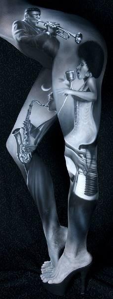 Боди-арт работы от Крейга Трейси. Изображение № 10.