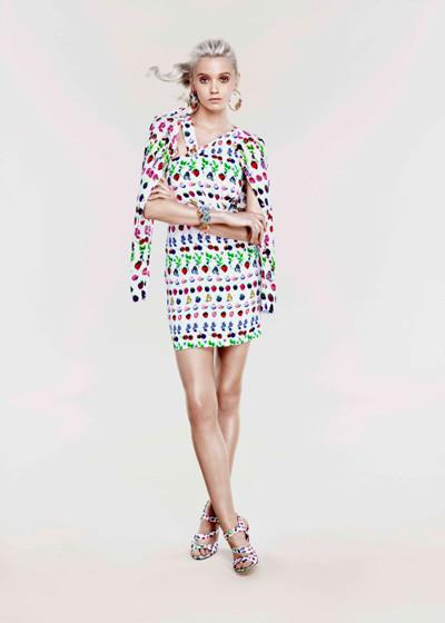 Лукбук: Эбби Ли Кершо для Versace for H&M Cruise 2012. Изображение № 5.