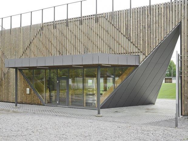 Стадион Lidingövallen авторства DinellJohansson) . Изображение № 24.