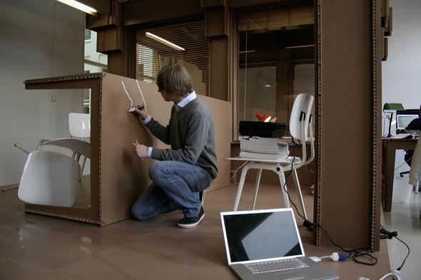 Картонный офис. Изображение № 2.
