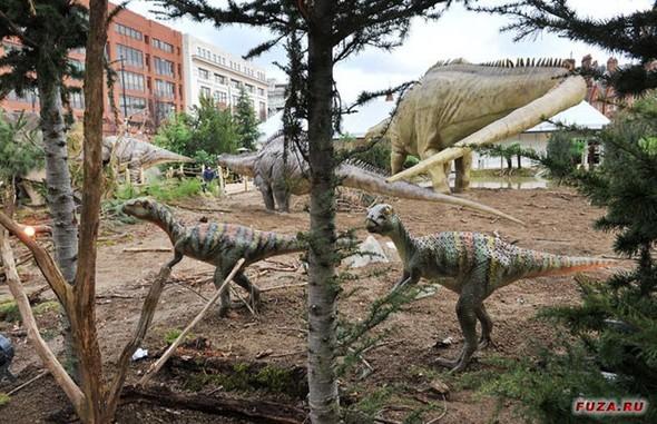 """""""Dinosaurs unleashed"""" или динозавры в Лондоне. Изображение № 18."""