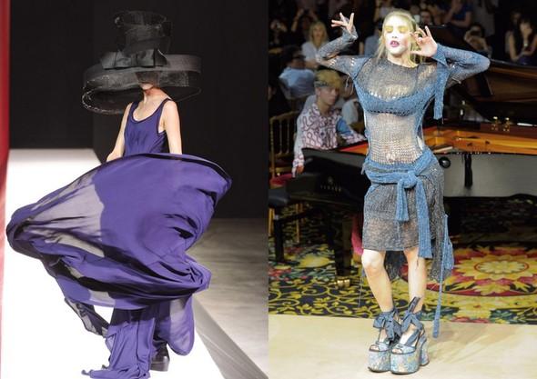 Paris Most Crazy! Самые сумасшедшие наряды на Неделе Моды в Париже. Изображение № 4.