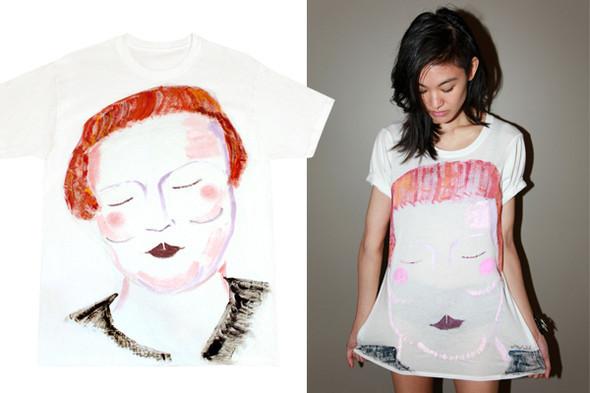 Début выпустили коллекцию футболок. Изображение № 1.