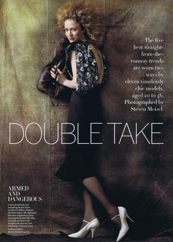 Съёмка: Стивен Майзел для американского Vogue. Изображение № 1.