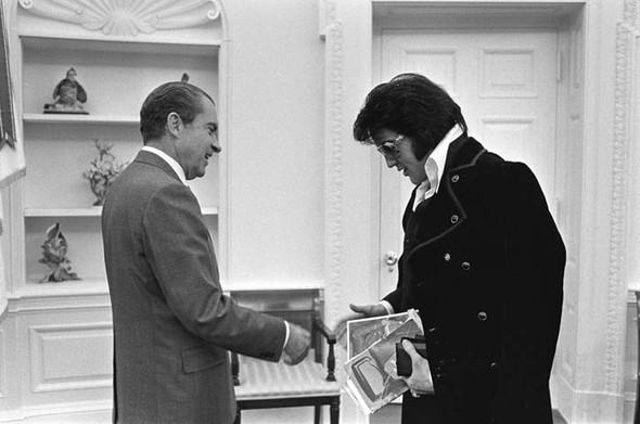 Элвис Пресли vsРичард Никсон. Историческая встреча. Изображение № 2.