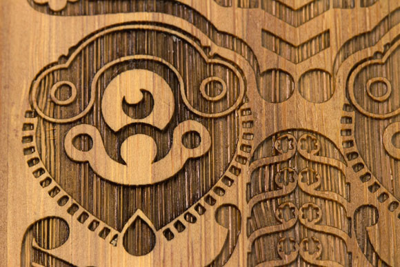 Деревянные корпуса для iPhone. Изображение № 9.