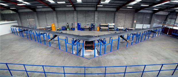 Facebook показала дрон для раздачи интернета из стратосферы. Изображение № 1.