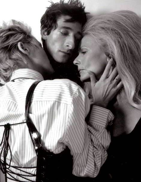 Sharon Stone & Adrien Brody by Tony Duran. Изображение № 7.