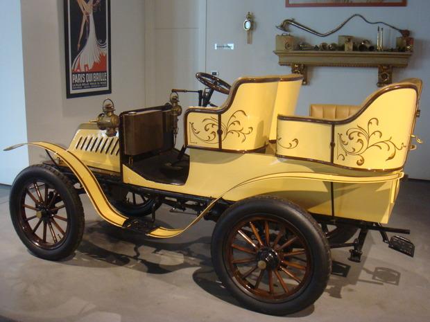 Испанский музей ретро-автомобилей. Изображение № 2.
