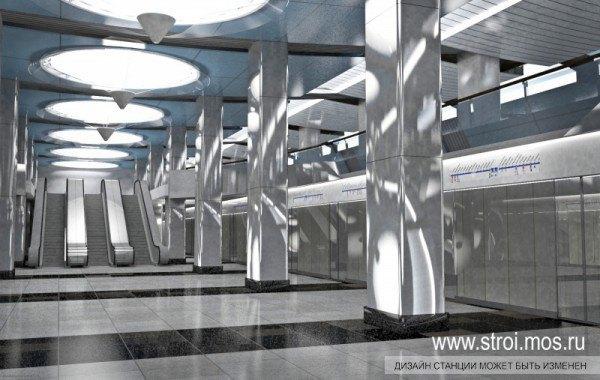 Опубликованы видеотуры по будущим станциям московского метро. Изображение № 5.