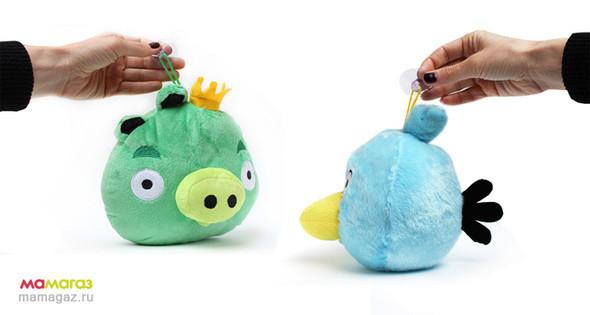 У каждой игрушки имеется присоска для крепления. Можно прикрепить к стеклу в автомобиле.. Изображение № 7.