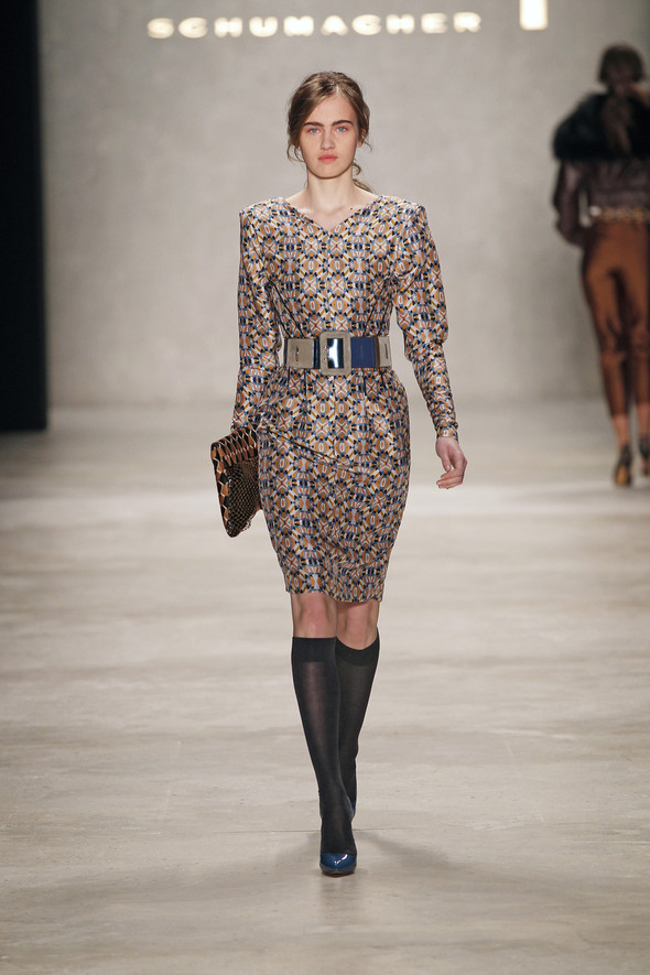 Berlin Fashion Week A/W 2012: Schumacher. Изображение № 14.