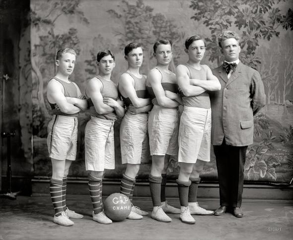 Изображение 4. Sports in USA 1899-1937 years.. Изображение № 4.