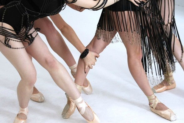 Кампания: Балерины для Bliss Lau FW 2011. Изображение № 14.