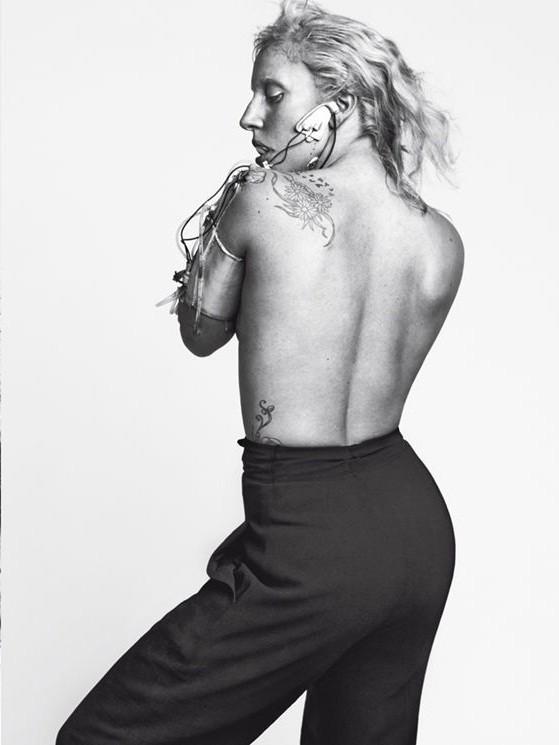 Съёмка: Леди Гага для Vogue. Изображение № 9.