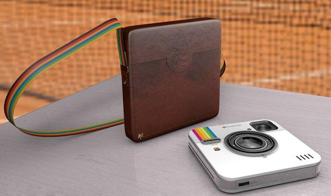 Polaroid выпустит камеру в виде лого Instagram. Изображение № 1.