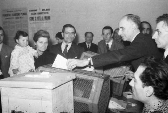 100 лет выборов в документальных фотографиях. Изображение № 16.