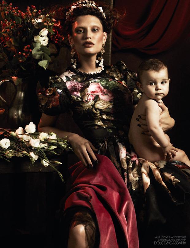 Вышли новые съемки Vogue, i-D, 10 и Interview. Изображение № 30.