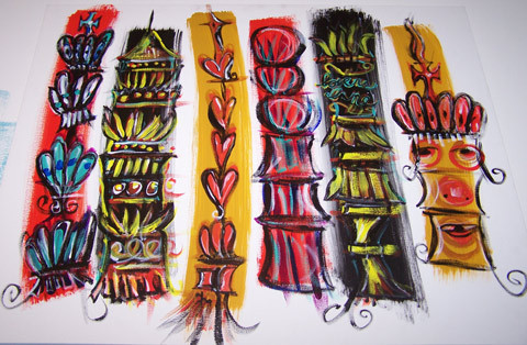 Девять источников вдохновения Криса Пастраса. Изображение № 1.