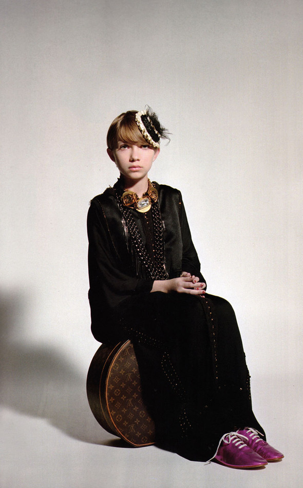 TAVI GEVINSON for POP magazine. Изображение № 6.