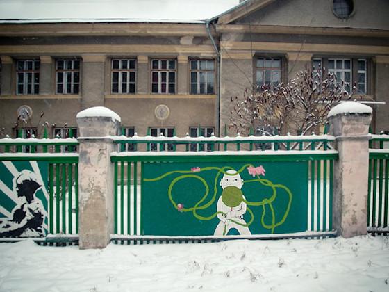 Изображение 3. Арт-забор как источник вдохновения.. Изображение № 7.