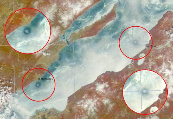 Новая загадка: Круги на полях сменились кругами на льду. Изображение № 3.