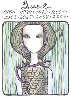 Однажды я нарисовала в Молескине картинки к гороскопу)). Изображение № 3.