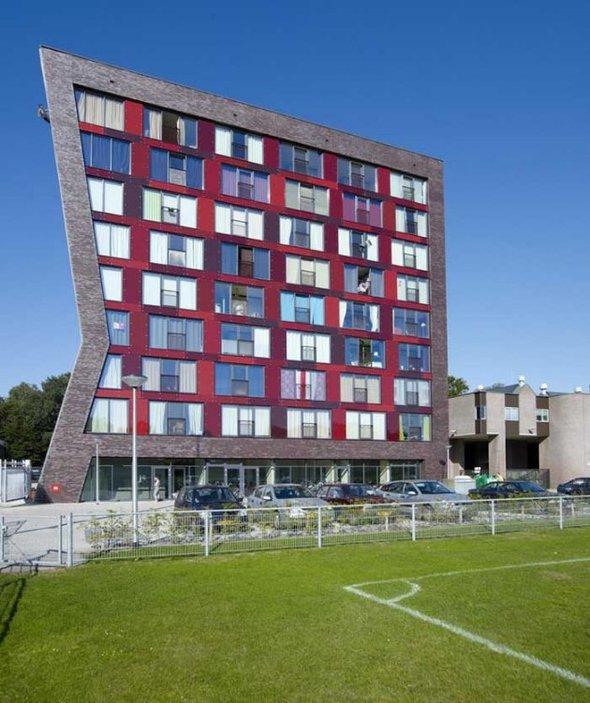 Новое общежитие университета втвенте. Изображение № 4.