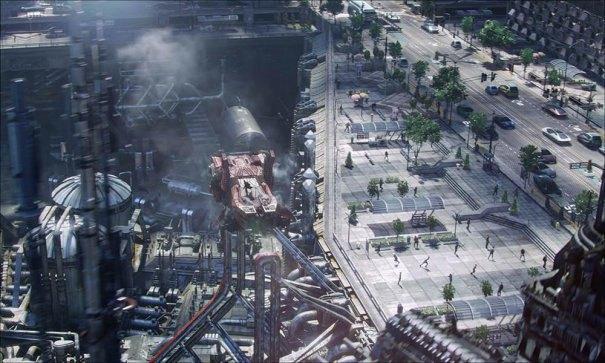 Дизайнеры показали процесс создания городов из «Стартрека». Изображение № 3.