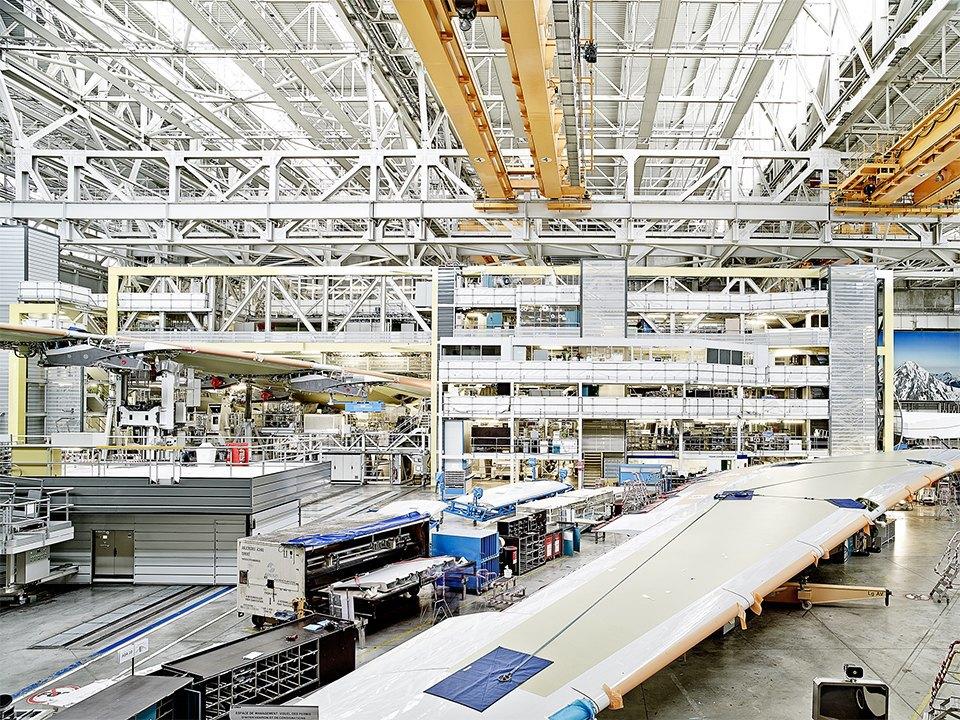 Фото: как собирают самолёты Airbus. Изображение № 7.
