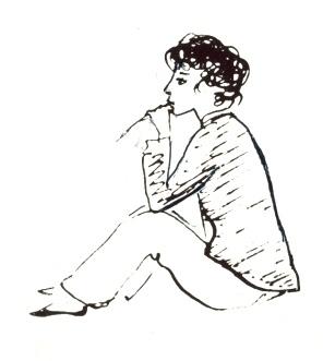 Надя Рушева. Маленькая принцесса. Изображение № 23.