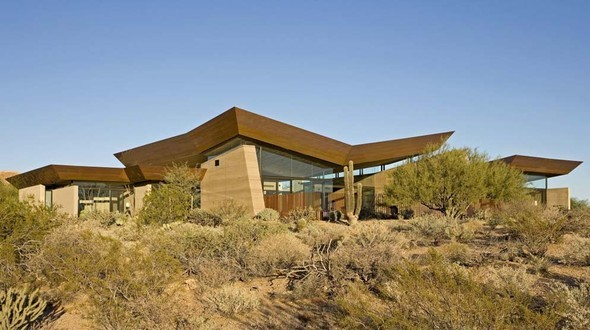 Дом Desert Wing от Brent Kendle. Изображение № 3.