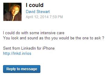 Странные письма из LinkedIn собирают в блоге CreepedIn. Изображение № 5.