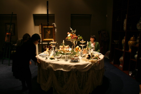 Под Новый год Наталья Жук устроила ужин с Джузеппе Арчимбольдо. Изображение № 2.